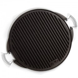 Cast Iron round Griddle .
