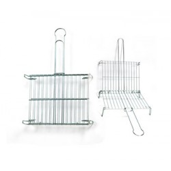 Zinc-plated double roasting grill