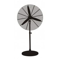 Industrial air circulator fan foot Ø 75 cm.