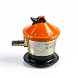 Butane/propane gas regulator 112 mbar.