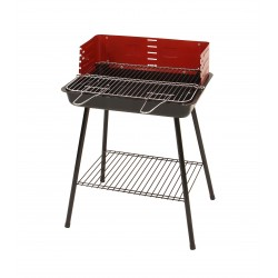 Barbecue with square grill 50 x35
