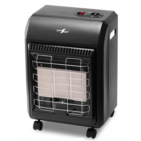 Infrared radiant gas heater.