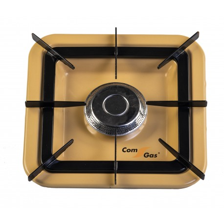 Square stove for cylinder