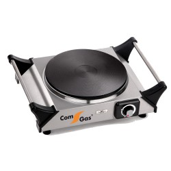 Electric Hot Plate one burner stainless steel.